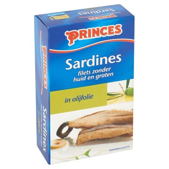 Sardientjes zonder huid & zonder graat (120g)