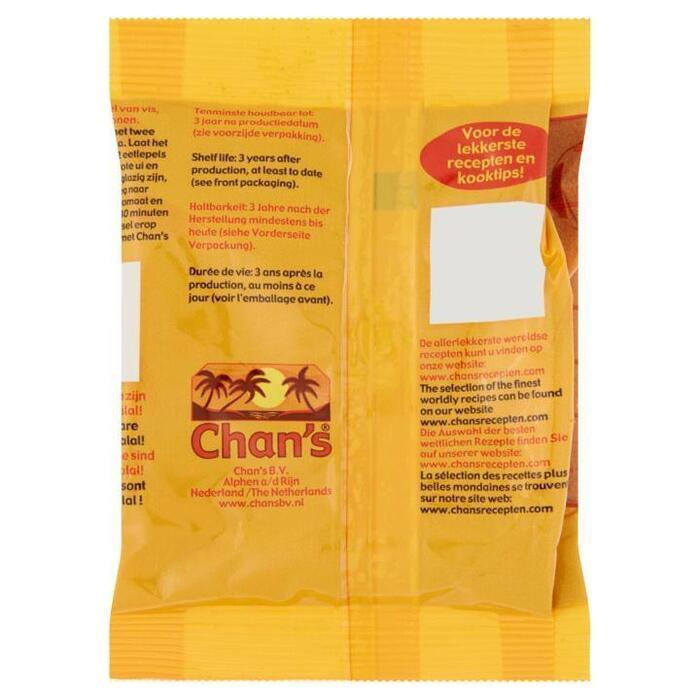Chan's Paprika Poeder 50g (50g)