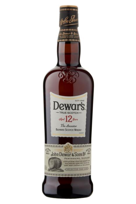 Dewar's 12 Year Blended Whisky 700ml (rol, 70 × 0.7L)