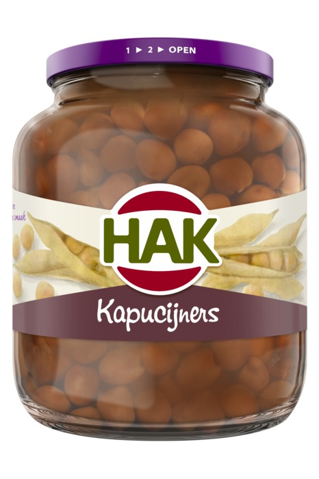 Kapucijners (pot, 715g)