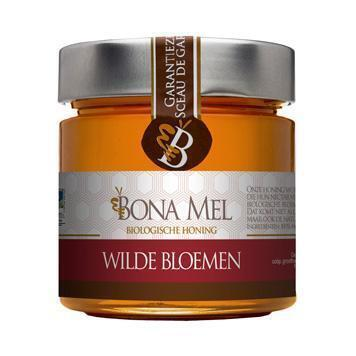 Wilde bloemenhoning (crème) (300g)