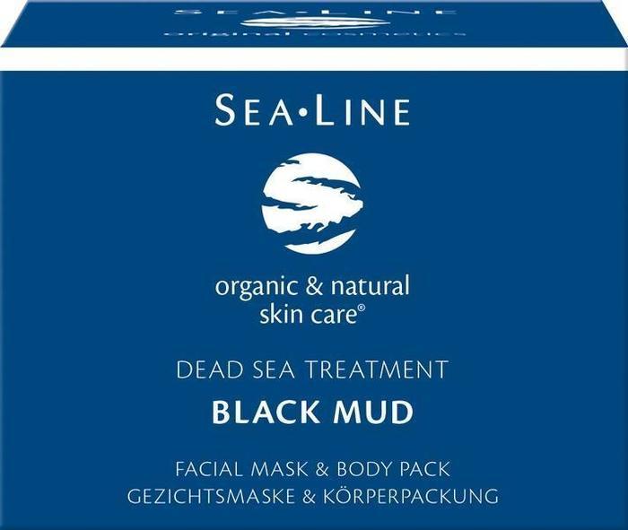 Black mud facial mask & body pack (225ml)