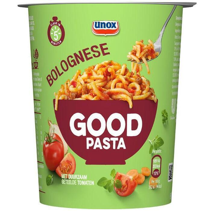 Unox Goodpasta spaghetti bolognaise (68g)