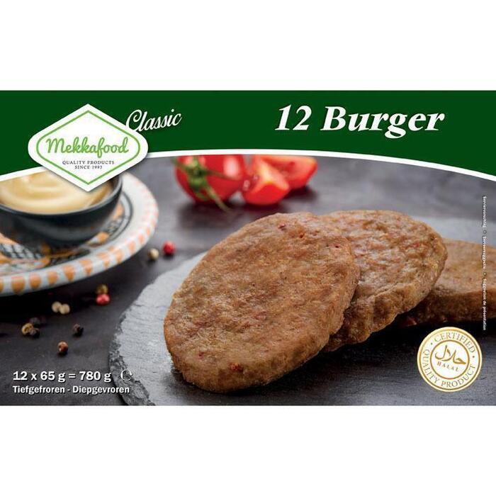 Burger (doos, 12 × 780g)