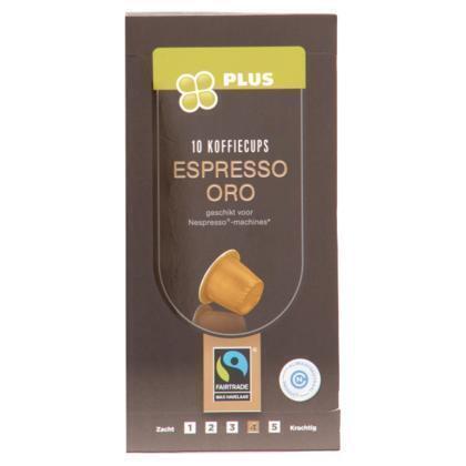 Koffiecups espresso oro
