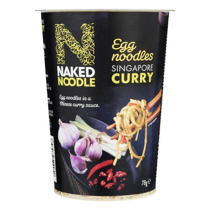 Naked Noodle Singapore curry (78g)