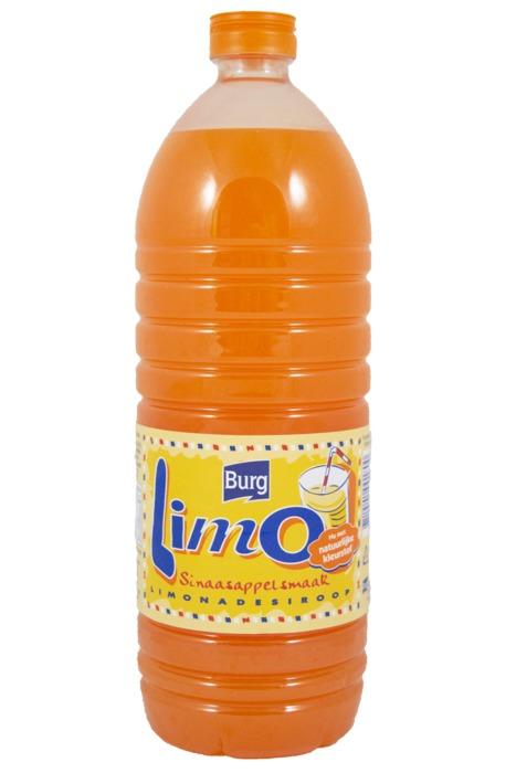 Limo Sinaasappelsmaak (petfles, 1L)