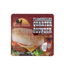 Quarter pounder flamegrilled (193g)
