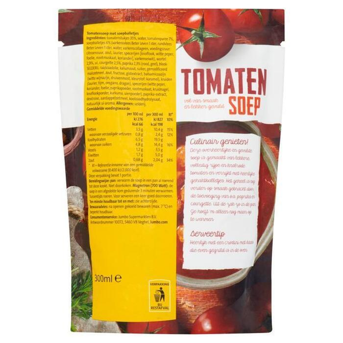 Tomatensoep (plastic zak, 30cl)