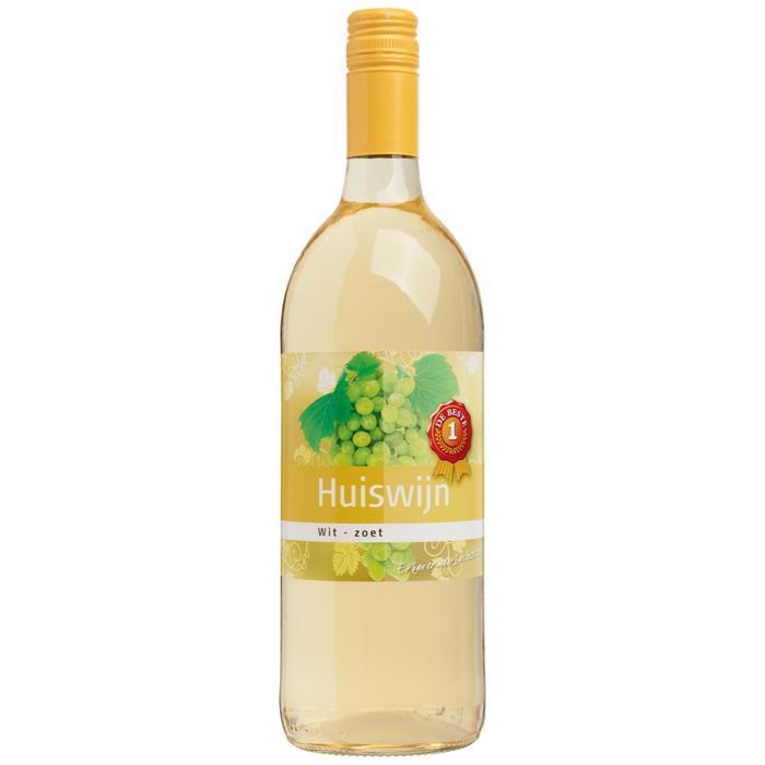 Witte wijn zoet (1L)