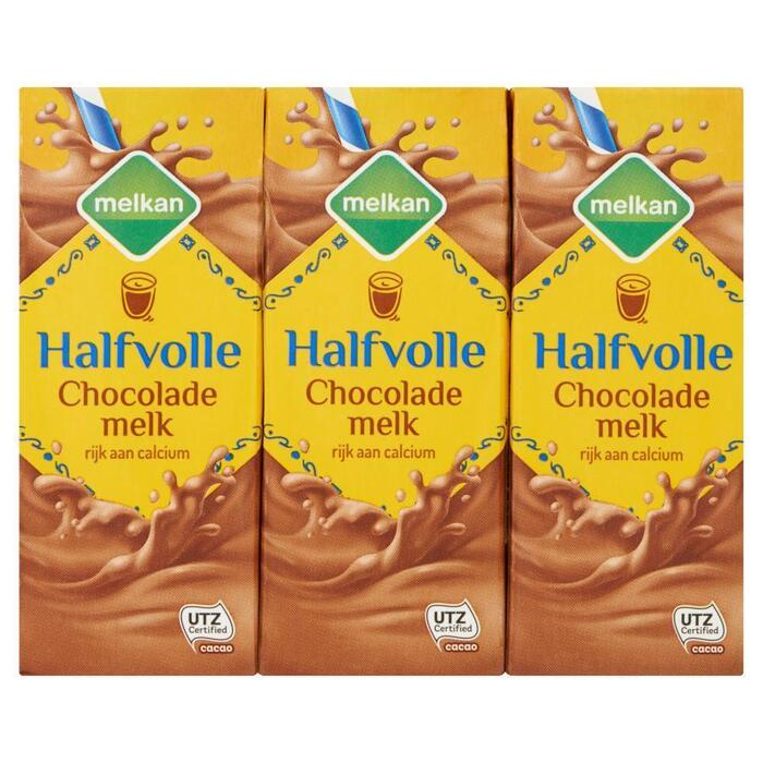 Chocolademelk halfvol 6 x 200 ml (6 × 1.2L)