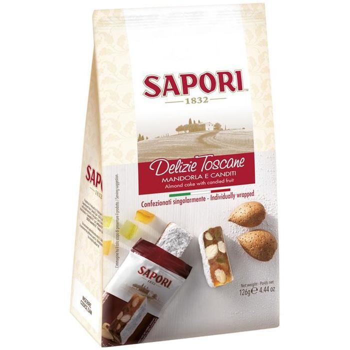 Sapori Delizie Toscane mandorla e canditi (126g)