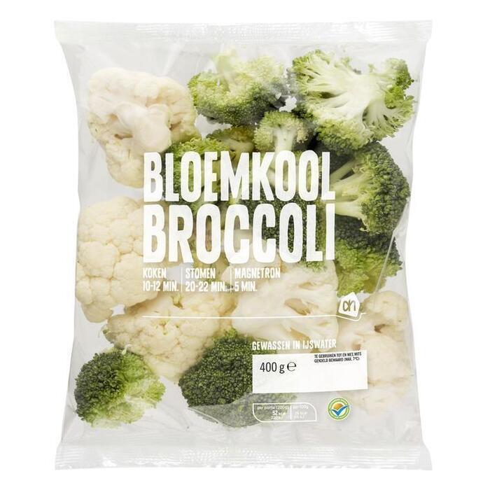 AH Bloemkool- en broccoliroosjes (400g)