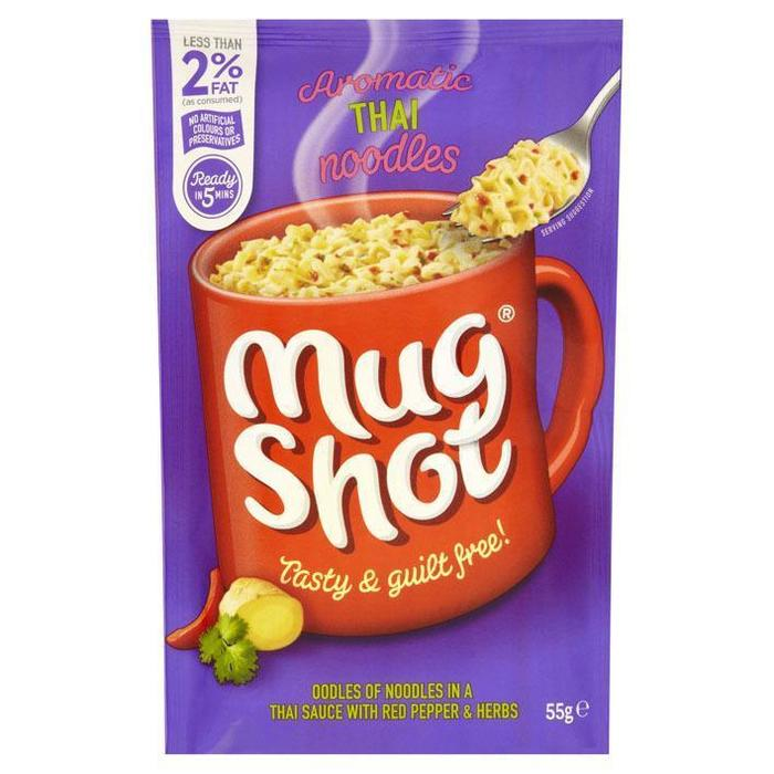 Mug Shot Aromatic Thai Noodles 55g (55g)