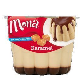 Karamel pudding met roomsaus (bak, 45cl)