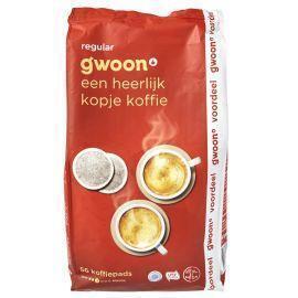 g'woon Koffiepads regular (56 × 392g)