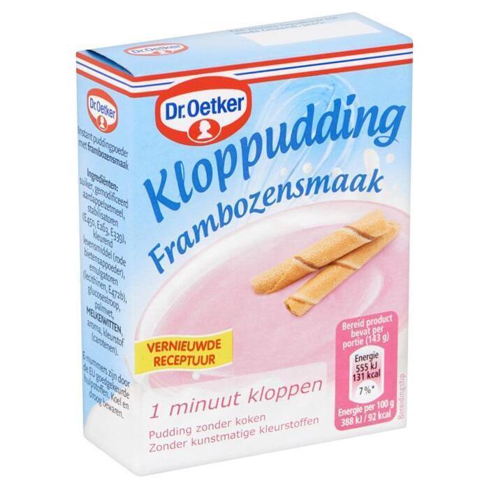 Kloppudding Framboos (74g)