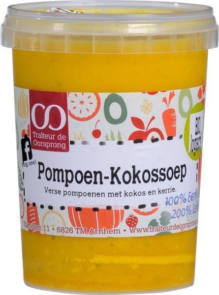 Pompoen-kokossoep (0.5L)