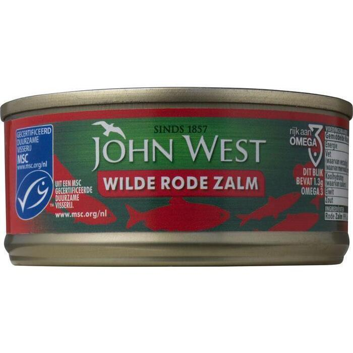 Wild Red Salmon (blik, 105g)