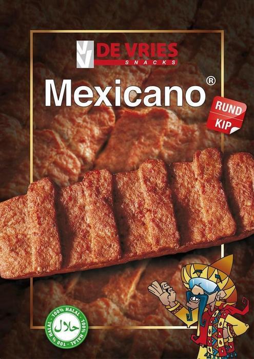 DE VRIES HALAL MEXICANO RUND/KIP 15ST (15 × 2.02kg)
