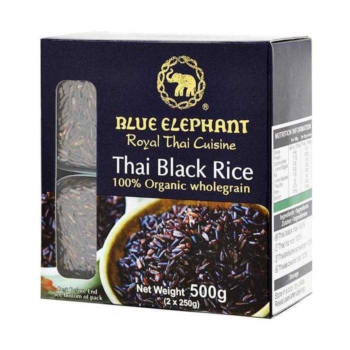 Blue Elephant Thai black rice (500g)
