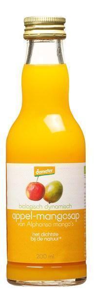 Appel-mangosap (glas, 200ml)
