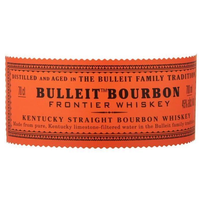 Bulleit Bourbon Frontier Whiskey 70cl (rol, 70 × 0.7L)