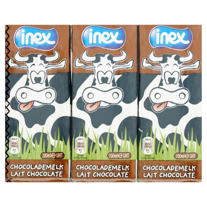 Chocomelk halfvol (drinkpakje, 6 × 200ml)