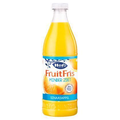 Fruitfris minder zoet sinaasappel (0.9L)