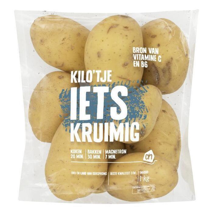 AH Kilo'tje iets kruimige aardappelen (1kg)