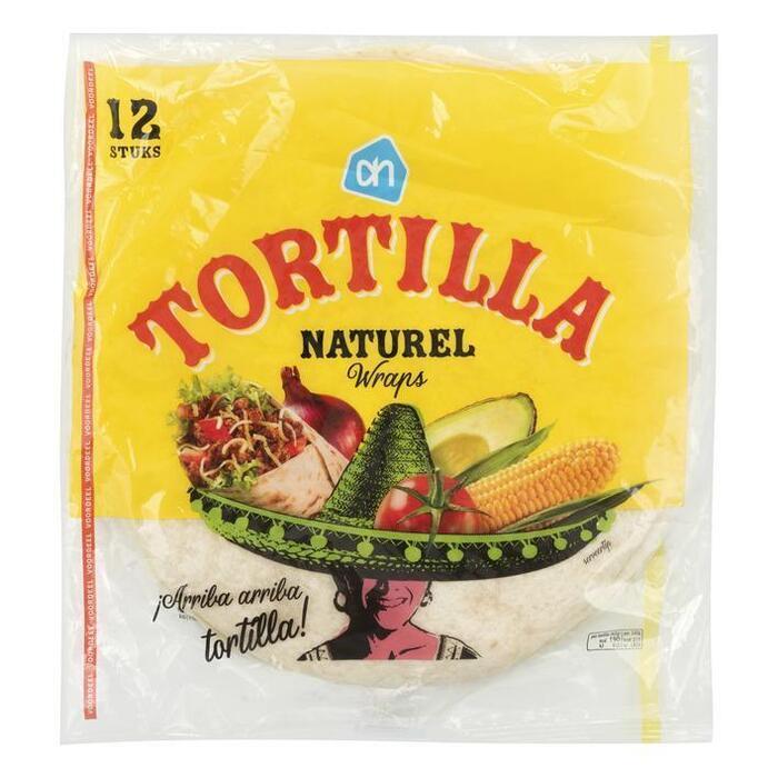 Tortilla wraps voordeel (zak, 740g)
