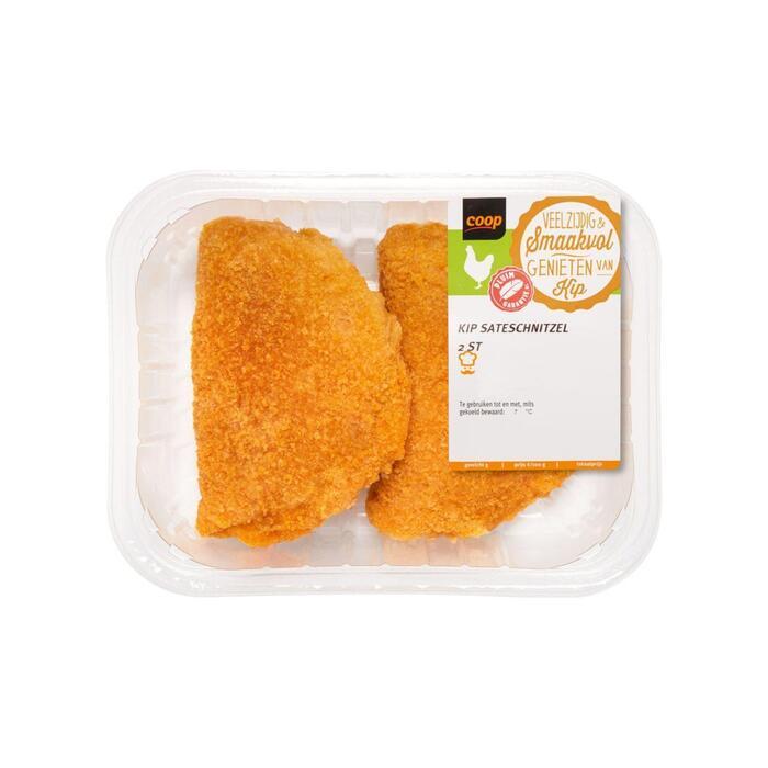 Kip saté schnitzels (250g)