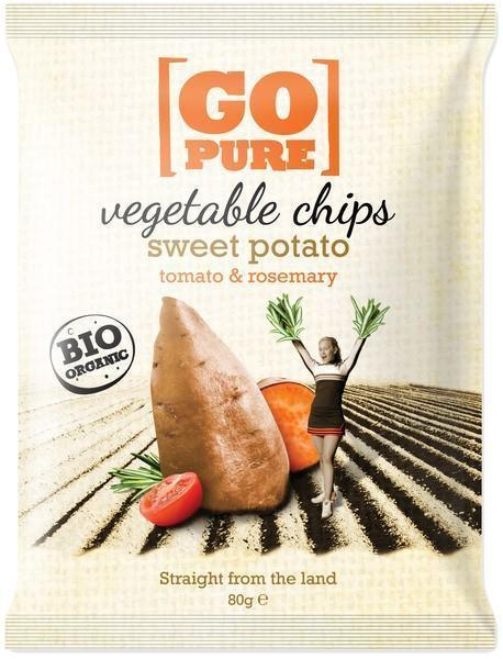 Vegetable chips sweet potato (80g)