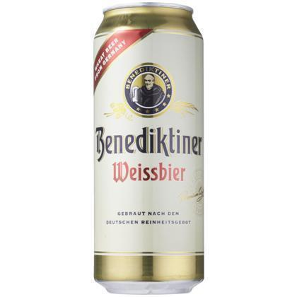 Benediktiner Weissbier (rol, 50 × 0.5L)