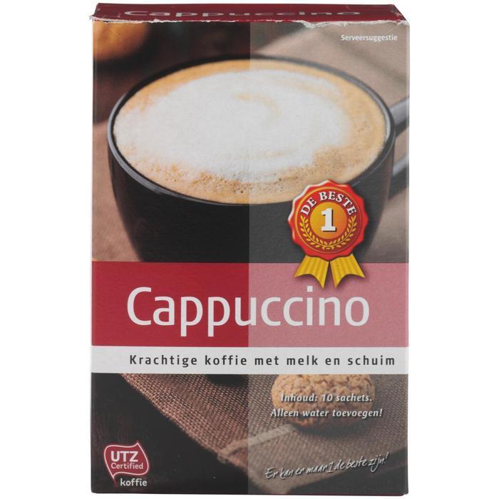 Cappuccino 10 zakjes (125g)
