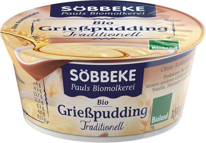 Griesmeelpudding naturel (150g)