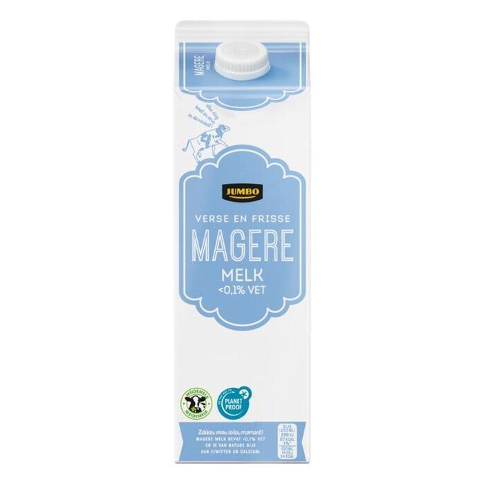Jumbo Magere Melk 1 Liter (1L)