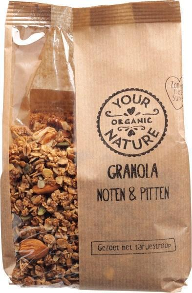 Granola - noten & pitten (375g)