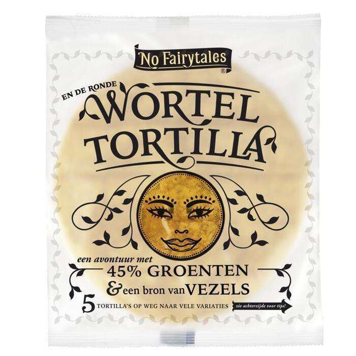 No Fairytales Wortel Tortilla 5 Stuks 200g (5 × 200g)