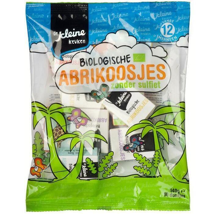 De Kleine Keuken Abrikoos bio 12 mnd (10 × 140g)