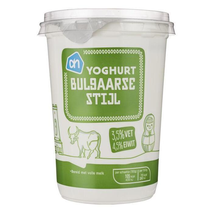 AH Yoghurt Bulgaarse stijl (500g)