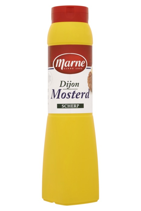 Marne Dijon Mosterd Scherp 800 GRM tube (800g)