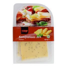 Coop Komijne 20+ kaas gesneden (150g)