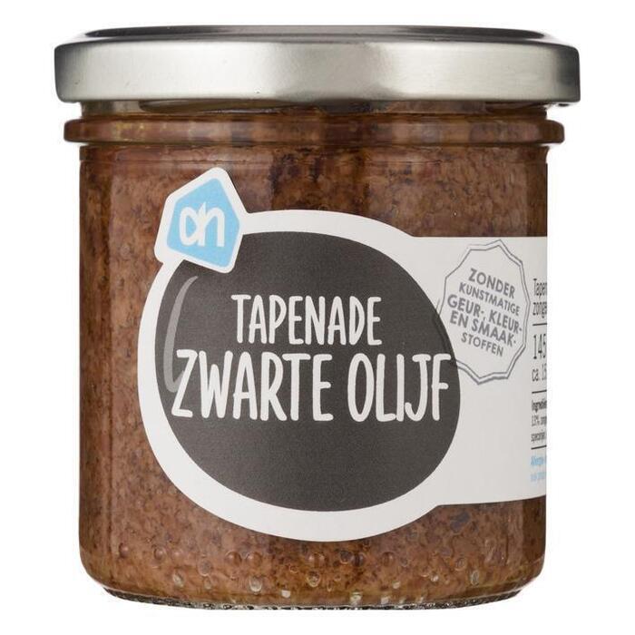 AH Tapenade zwarte olijven (145g)