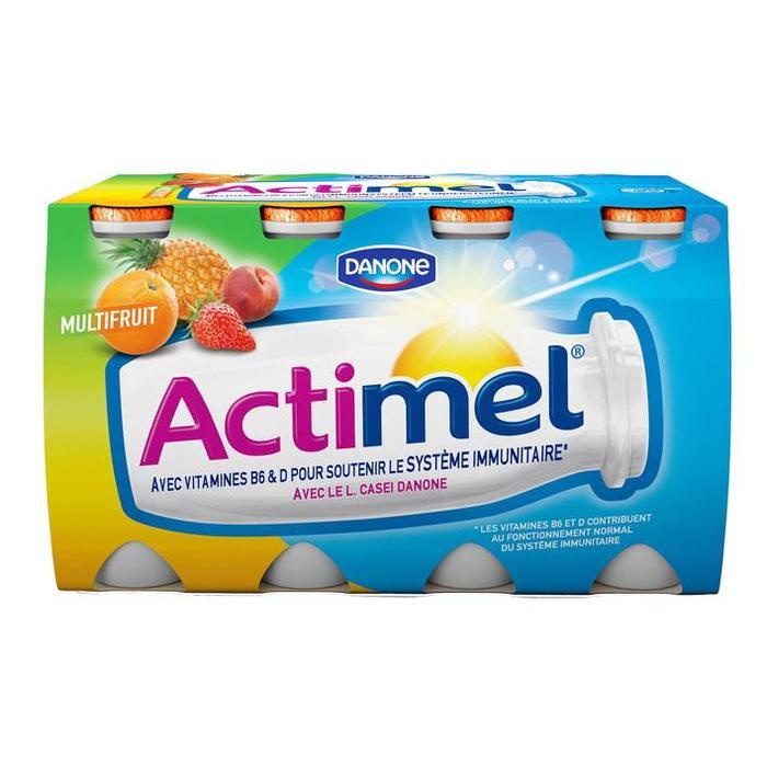 Danone Actimel Multifruit 8 x 100g (8 × 100ml)