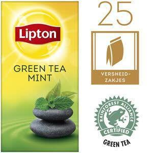 Lipton Thee Professioneel Green Tea Mint (25 × 40g)