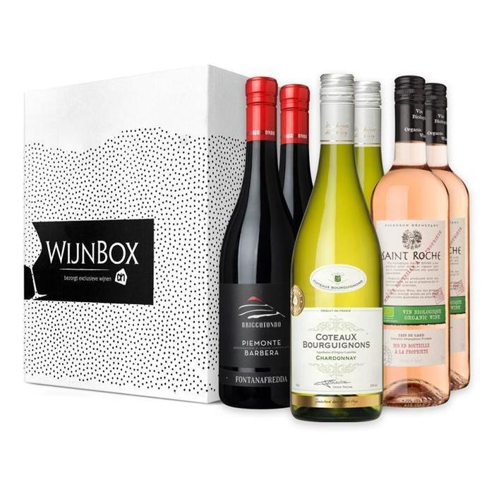 De perfecte trio wijnbox (6 × 0.75L)