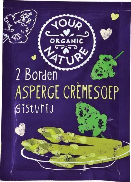 Asperge crèmesoep 2-persoons (50g)