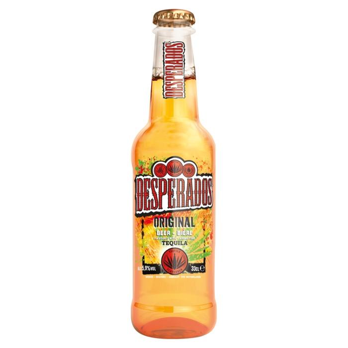 Desperados Tequila bier (rol, 33 × 33cl)