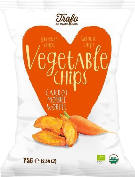 Groentechips wortel (75g)